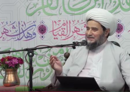 سخنرانی استاد غفاری ماه رمضان ۱۴۰۰ ش